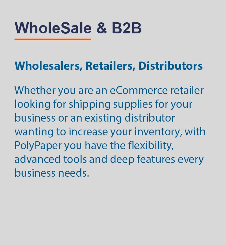 Wholesale and B2B